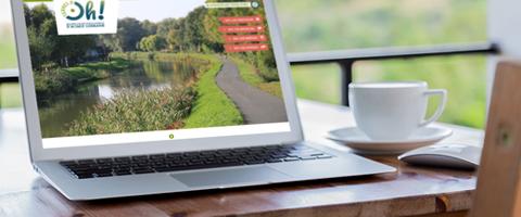 Terres d'Oh ! Création de marque, logo et charte graphique, site web, clip vidéo et supports imprimés