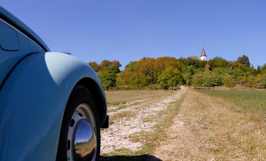 Les chemins d'Alsace Bossue, le Kirchberg