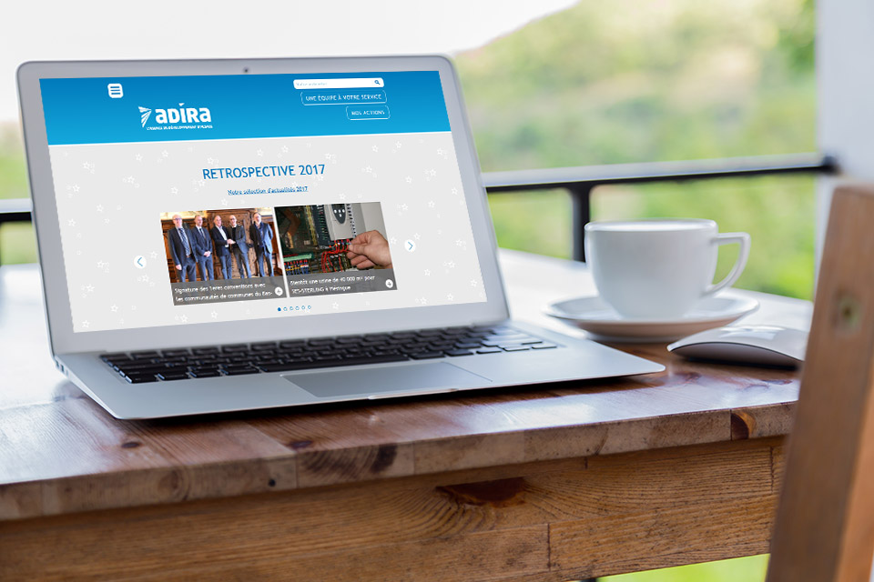 Réalisation du site web ADIRA