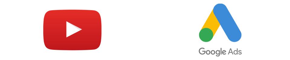 logo youtube et google ads