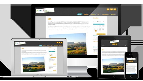 Responsive Web Design avec Nina