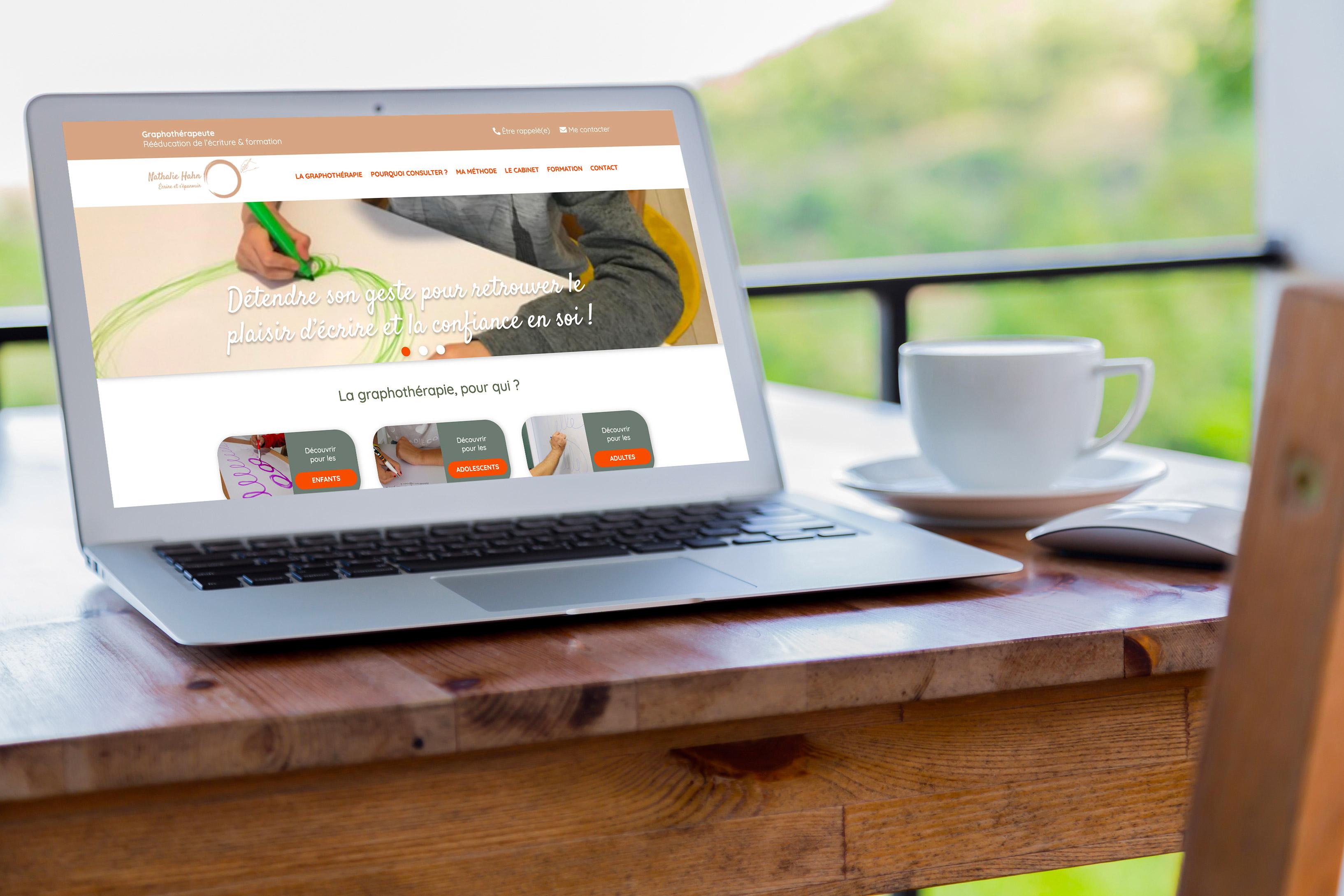 graphothérapeute site web