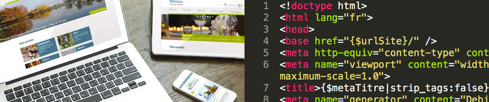 Conception et réalisation de sites web par l'agence de communication la couleur du Zèbre