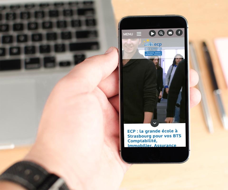 Conception réalisation du site web et de la vidéo de présentation institutionnelle